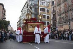 Semana圣诞老人,马德里 图库摄影