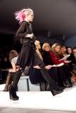 Semana da forma da queda 2011 de Charlotte Ronson Foto de Stock