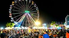Semana de la bici del Ao Nang, Krabi, Tailandia metrajes
