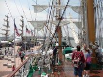 Semana 2012 5 de la flota de Buque Escuela Gloria @ Foto de archivo