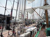Semana 2012 23 de la flota de Buque Escuela Gloria @ Imagen de archivo libre de regalías