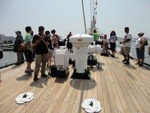 Semana 2012 11 de la flota de Buque Escuela Guayas @ Imágenes de archivo libres de regalías
