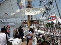 Semana 2012 21 de la flota de Buque Escuela Guayas @ Foto de archivo libre de regalías