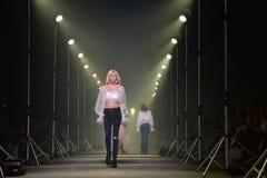 Semana de la moda de AJE foto de archivo libre de regalías