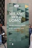 Semana de la moda de Milán Fotografía de archivo libre de regalías