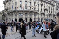 Semana de la moda de Milán Foto de archivo