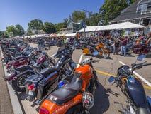 Semana de la motocicleta del Laconia Fotos de archivo libres de regalías