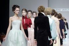 A semana de moda Fotografia de Stock Royalty Free