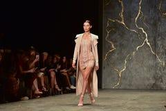 A semana de moda da coleção de MISHA Fotos de Stock Royalty Free