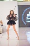 A semana de moda 2015 de Bucareste Imagem de Stock