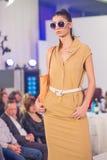 A semana de moda 2015 de Bucareste Fotografia de Stock