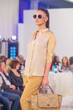 A semana de moda 2015 de Bucareste Foto de Stock