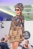 A semana de moda 2015 de Bucareste Imagens de Stock