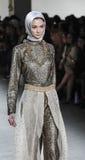 A semana de moda FW 2017 de New York - coleção de Anniesa Hasibuan Imagem de Stock
