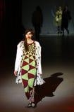 A semana de moda ucraniana: coleção por Oleksiy ZALEVSKIY Imagem de Stock Royalty Free