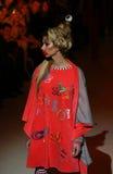 A semana de moda ucraniana: coleção por Oleksiy ZALEVSKIY Imagens de Stock