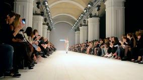 A semana de moda ucraniana, Kiev, Ucrânia,