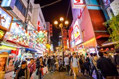 Semana de Osaka Golden Fotos de Stock Royalty Free