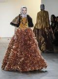 Semana FW 2017 de la moda de Nueva York - colección de Anniesa Hasibuan Imagen de archivo