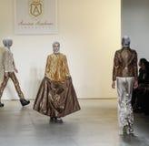 Semana FW 2017 de la moda de Nueva York - colección de Anniesa Hasibuan Fotografía de archivo libre de regalías