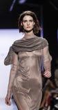 Semana FW 2017 de la moda de Nueva York - Dennis Basso Collection Foto de archivo libre de regalías