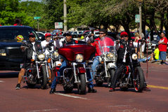 Semana Harleys da bicicleta Fotografia de Stock