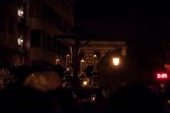Semana Papá Noel en Sevilla fotografía de archivo libre de regalías
