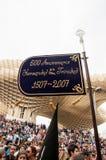 Semana Sankt in Sevilla lizenzfreie stockfotografie