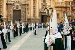 Semana Santa à Murcie Image libre de droits