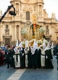 Semana Santa à Murcie Images libres de droits
