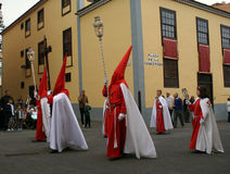 Semana santa 03. Catholic procession in Tenerife, Spain Stock Image