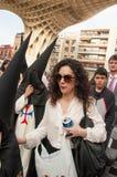 Semana Santa em Sevilha Foto de Stock Royalty Free