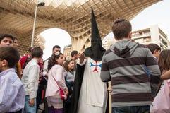 Semana Santa em Sevilha Fotos de Stock