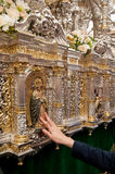 Semana Santa em Sevilha Imagem de Stock