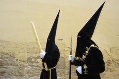Semana Santa en Espagne Images libres de droits
