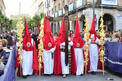 Semana santa en Ramos Domingo Fotos de archivo