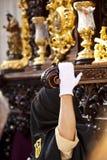Semana santa en Sevilla, Andalucía, España Imágenes de archivo libres de regalías