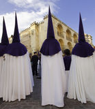Semana Santa (Holy Week) in Andalusia, Spain. Royalty Free Stock Photo