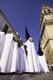 Semana Santa (Holy Week) in Cordoba, Spain. Stock Photos