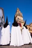 Semana Santa (Holy Week) in Cordoba, Spain. Royalty Free Stock Photo