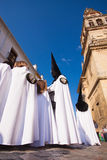 Semana Santa (Holy Week) in Cordoba, Spain. Stock Image