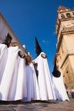 Semana Santa (Holy Week) in Cordoba, Spain. Stock Image