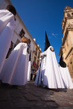 Semana Santa (Holy Week) in Cordoba, Spain. Stock Photography