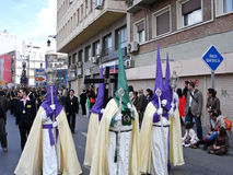 Semana Santa ( Holy Week ) Procession Royalty Free Stock Image