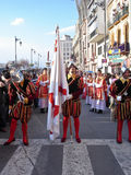 Semana Santa ( Holy Week ) Procession Royalty Free Stock Photo