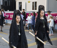 Semana Santa MÃ ¡ laga 2017 Zdjęcie Stock