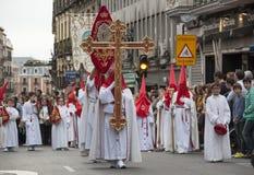 Semana Santa, Madri fotografia de stock