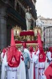 Semana Santa, Madrid royalty free stock photo