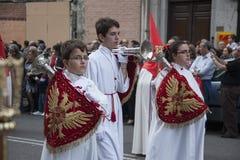 Semana Santa, Madryt Fotografia Stock