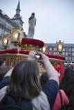 Semana Santa, Madryt Fotografia Royalty Free